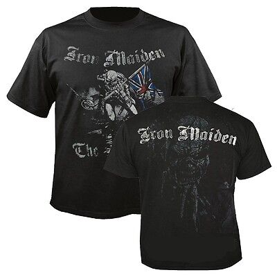 IRON MAIDEN Sketched Trooper T-shirt (Black) Mens New 'Official'