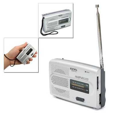 Usado, Radio de Bolsillo Portatil Mini FM/AM 2 Bandas a Pilas Jack BC-R28 segunda mano  España