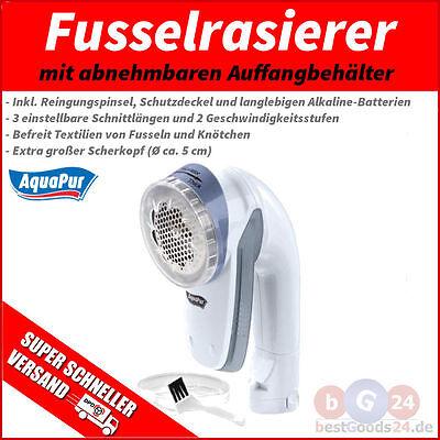 Fusselfräse Fusselrasierer 3-fach Scherfläche Ø 50 mm XL Fusel Entferner NEU