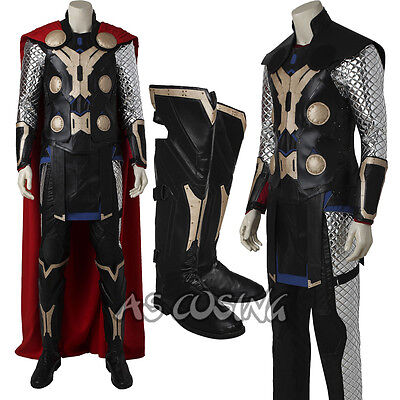 The Avengers Age of Ultron Thor Odinson Cosplay Costume Thor Costume All Size - Thor Mens Costume