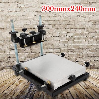 300x240mm Solder Paste Printer Pcb Smt Stencil Printer Manual Press Printer Us