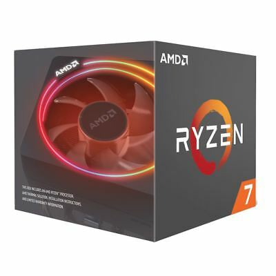 AMD Ryzen 7 2700X 3.7GHz 8-Core AM4 Boxed Processor w/ Wraith Prism Cooler