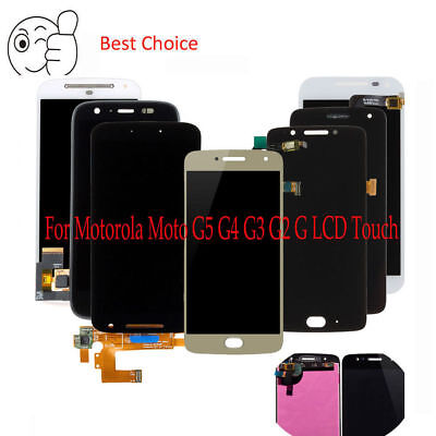 Ersetzen Sie für Motorola Moto G5 G4 G3 G2 G LCD Display Touchscreen Montage #7H Motorola Screen 3