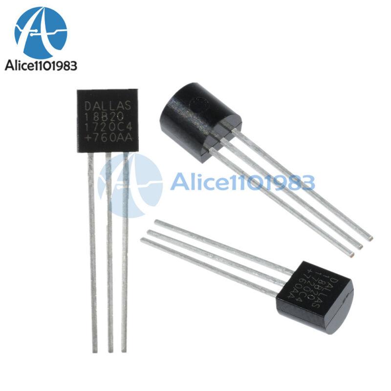5PCS DALLAS DS18B20 18B20 TO-92 Thermometer Temperature Sensor