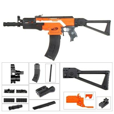 Worker4Nerf AK-105 Imitation Mod Kit for Nerf Stryfe/Worker Swordfish Shell