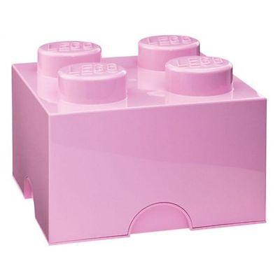 LEGO Almacenaje Ladrillo 4 Rosa Dormitorio Infantil/Playroom Juguete Oficial