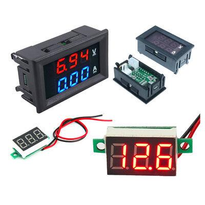 Digital Led 100v Voltmeter 10a Ammeter Panel Mount Volt Amp Meter