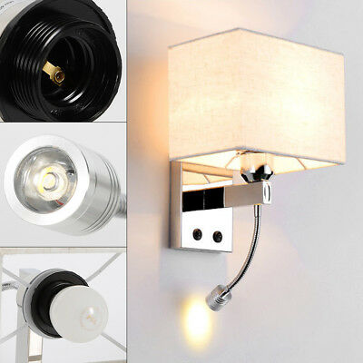 Led Bed Lamp, Minimalist LED Reading Working Light Lamp Wall Mount Bedside HOT ()