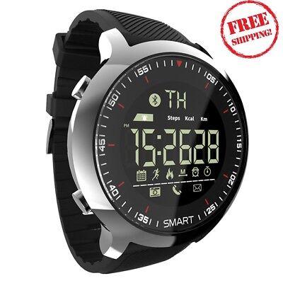 Bluetooth Smart Watch Sport pedometer Waterproof Call Reminder digita Best Deal