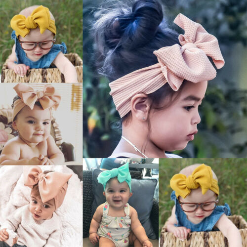 Baby Girls Flower Hairband Soft Elastic Rose Leaves Headband Gifts Accessories