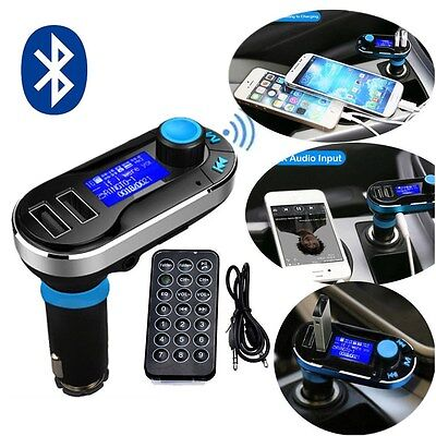 Bluetooth Auto KFZ Musik MP3 Player FM Transmitter Freisprechanlage SD/MMC/USB