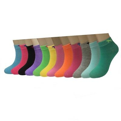 Womens Ankle Socks - Fashion Lot 12 Pairs Dozen Womens Candy Color Ankle Socks Cotton Size 9-11 New