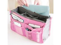 Womans' travel handbag purse organiser