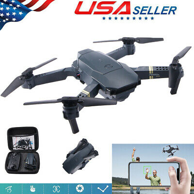 Mini Drone Quadcopter Selfie WIFI FPV HD Camera Foldable Arm RC Toy US House