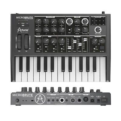 ARTURIA MICROBRUTE sintetizzatore analogico monofonico MIDI/USB 25 tasti NUOVO