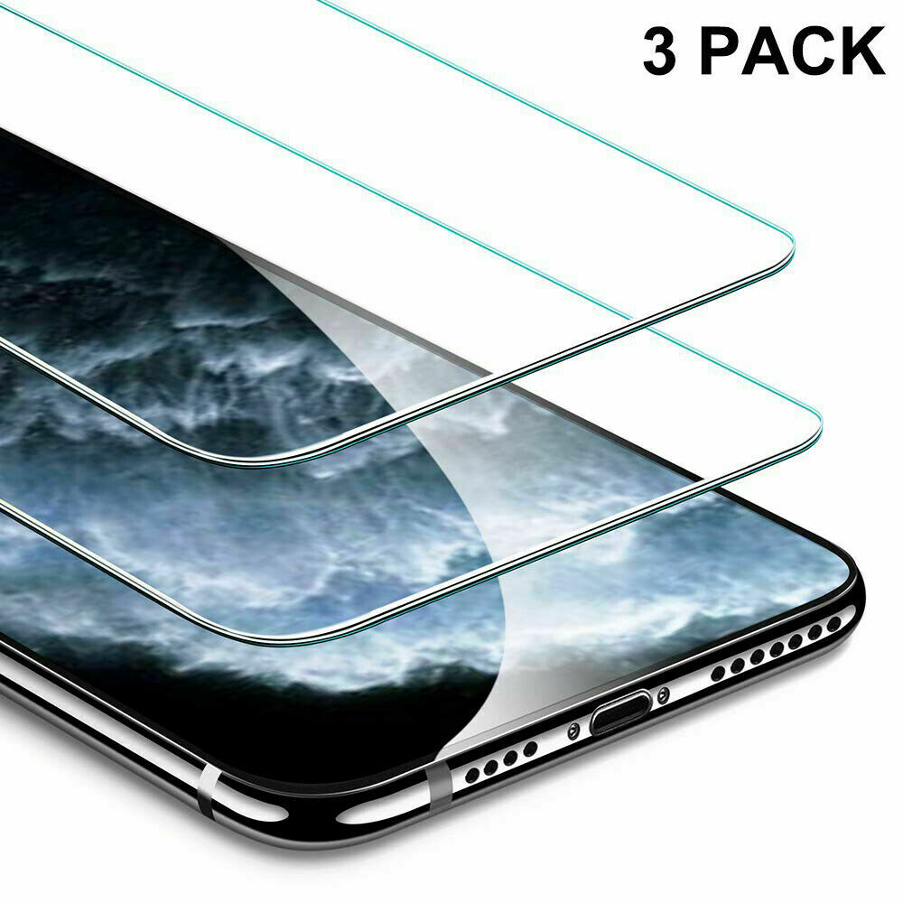 3 Pack Tempered Glass Screen Protector For Apple iPhone 11/ 11 Pro / 11 Pro Max Cell Phone Accessories