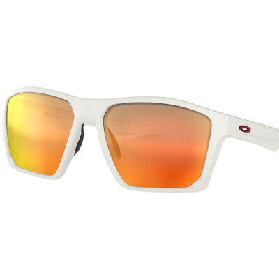 Oakley TargetLine Sunglasses, 100% UV Protection, Polished White, Prizm (Oakley Uv Protection)