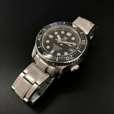 "UK STEELDIVE SD1968 Automatic 300m ""Marinemaster"" Homage Diver Watch NH35"