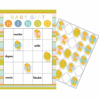 Happi Jungle Baby Shower 10 Guest Bingo Game 1st Birthday - 1st Birthday Games