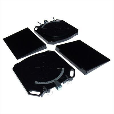 Steering Turntables Aluminium Wheel Alignment Turn Plates 50 Degree - SWE305A