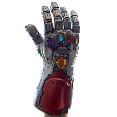 Iron Man Tony Stark Gloves Avengers Endgame Infinity Gauntlet Cosplay Costume