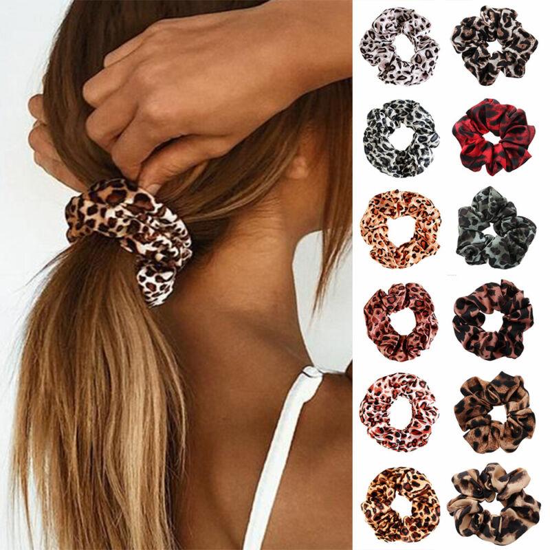 Holder Hairbands Leopard Hair Scrunchies Hair Rope Hair Ring