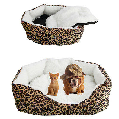 New S Superior Pet Dog Puppy Cat Soft Fleece Cozy Warm Bed House Cotton Mat