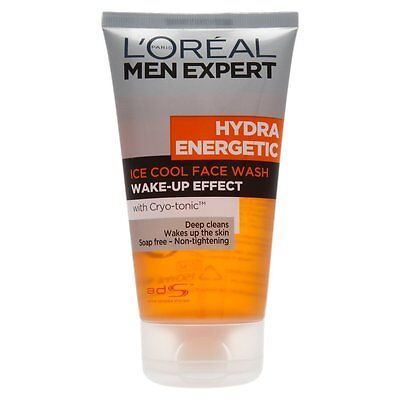 L'Oreal Men Expert Hydra Energetic Ice Cool Cleansing Gel 150ml
