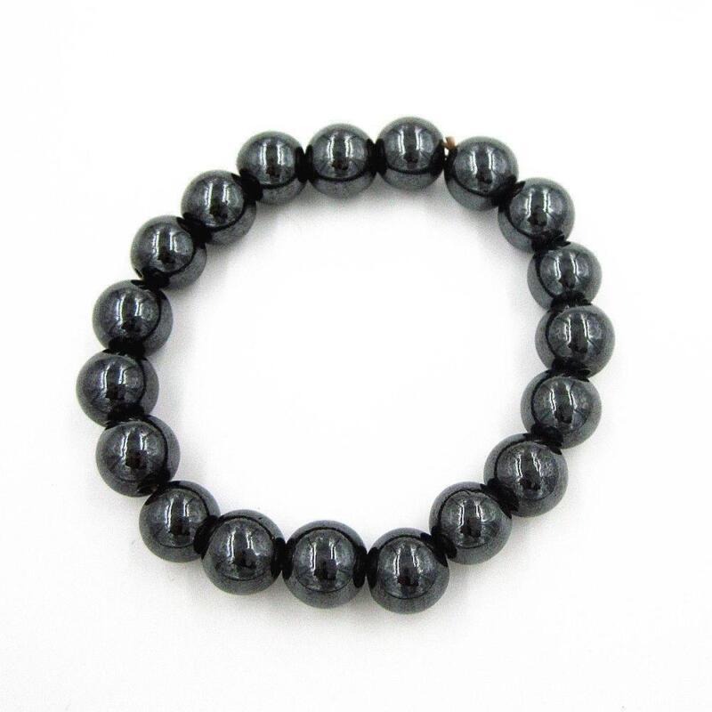 Natural MAGNETIC Hematite Gemstones Round Beads 16'' 4mm ...  |Hematite Beads