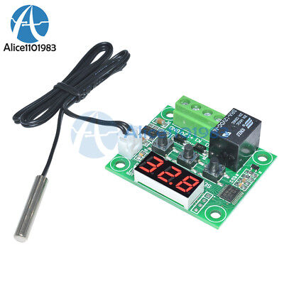 Dc12v Red W1209 Digital Thermostat Temperature Controler -50-110c  Sensor