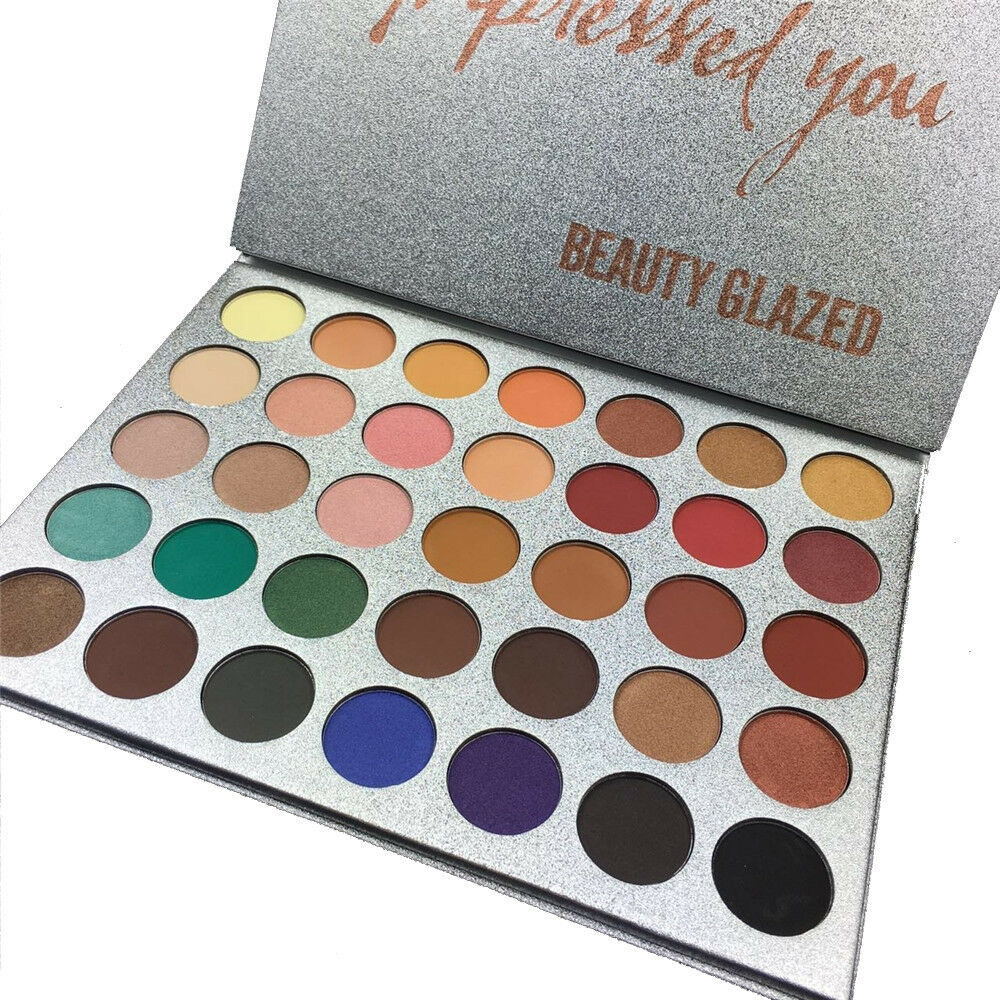 Pro 35 Colors Eye Shadow Palette New 2017 Beauty Glazed Dese