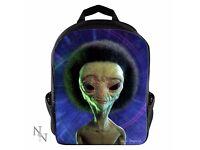 Afro Alien Backpack *Nemesis Now*