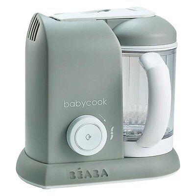 Beaba BabyCook Blender / Steamer - Grey - Warehouse Clearance