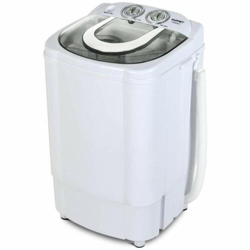 Portable Washing Machine Compact Semi-Automatic Powerful Was