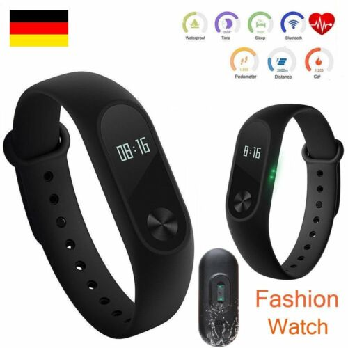 Armbanduhr Smartwatch LED Digital Uhr Damen Herren Kinder Sport Silikon Fitness