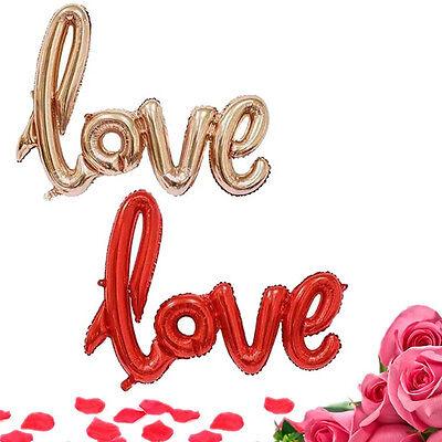 Love Letter Aluminum Foil Balloon Wedding Engagement Birthday Party Decor Props ()