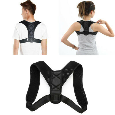 New Shoulder Posture Corrector Back Body Straightener Brace Strap Support Strap