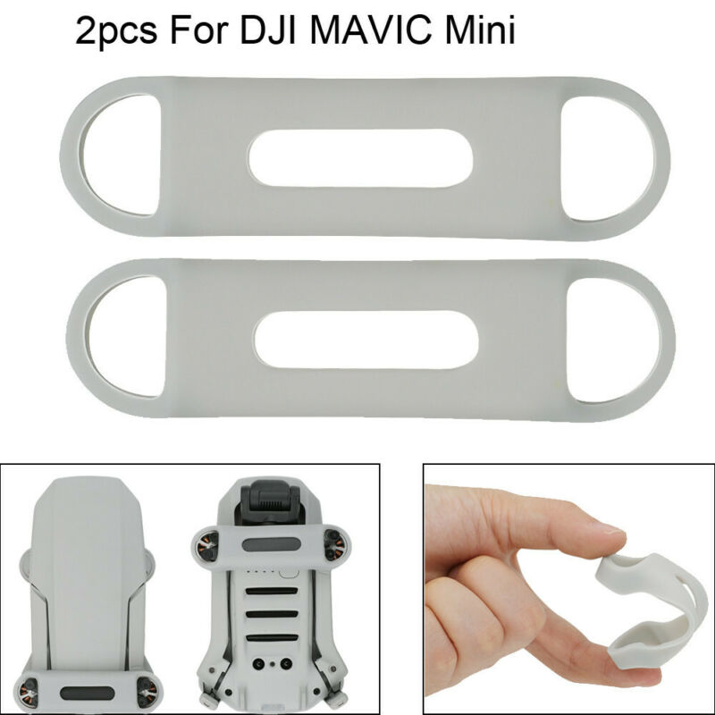 For DJI MAVIC Mini Drone Accessories 2Pcs Silicone Propellers Blade Stabilizer