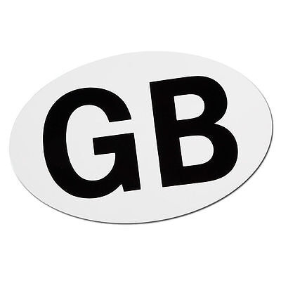 FULLY MAGNETIC GB STICKER GREAT BRITAIN MAGNETIC PLATE BADGE OVAL TRAVEL ABROAD