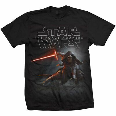 STAR WARS THE FORCE AWAKENS WITH KYLO REN XL TEE