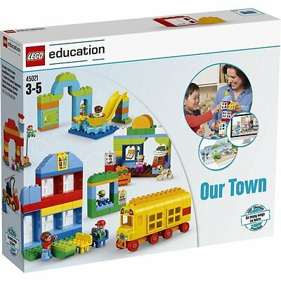 LEGO FORMAZIONE LEGO DUPLO IL NOSTRO Città 45021activity CARDS 278 PIETRE DUPLO