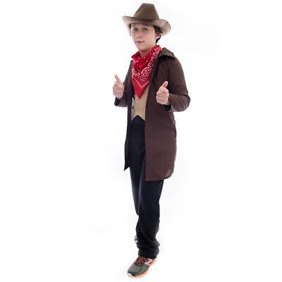 Ride 'em Cowboy Halloween Costume | Western Outlaw Sheriff Boys Dress - Western Outlaw Halloween Costume