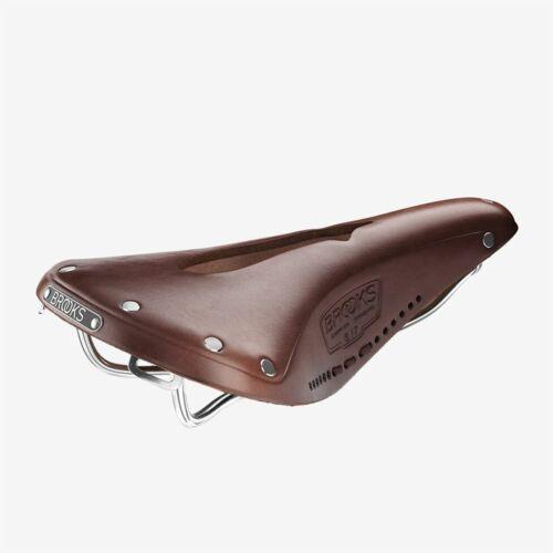 Brooks B17 Carved Saddle Brown 10 Year Warranty
