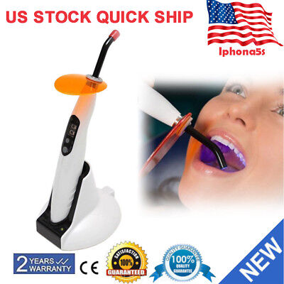 Dental Curing Light Wireless Led 5w Lamp Cordless 1400mw Woodpecker Style Us