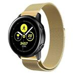 Just in Case Samsung Galaxy Watch Active Milanees armband -