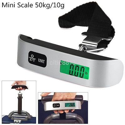 Market Shoping Kitchen Scale Luggage Scale Travel Backlight Electronic Scale US
