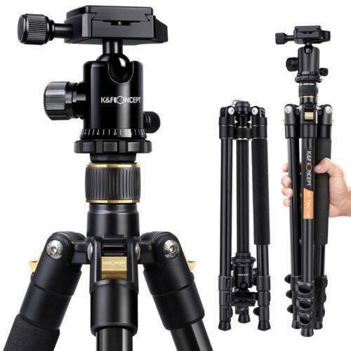"Professional 62"" Portable Tripod Ball Head for Canon Nikon"