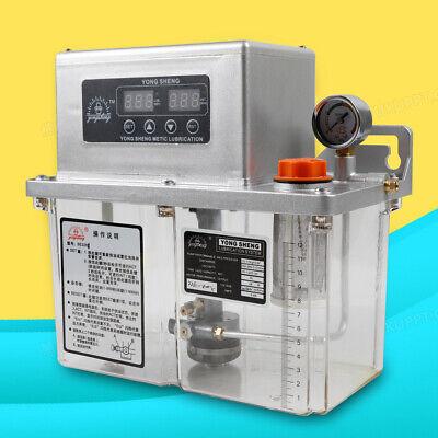 4l Digital Display Automatic Electric Lubrication Pump Oiler Oil Pump 110v