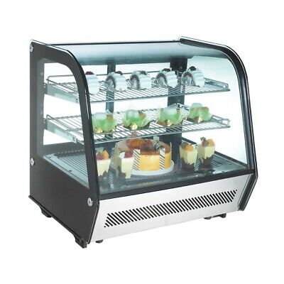 Marchia Mdc120 28 Refrigerated Countertop Display Case Ss Front
