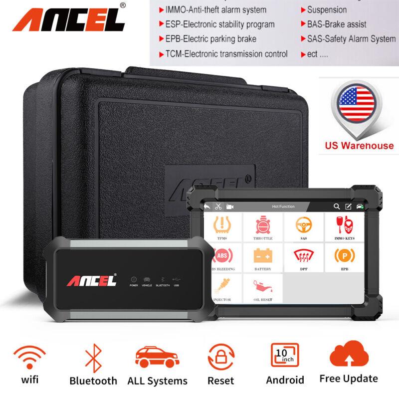 Ancel X7 OBD2 Full System ABS Airbag TPMS BAT Scanner Automotive Diagnostic Tool